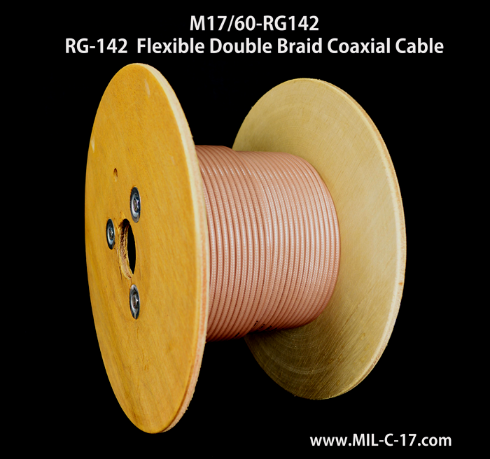 RG-142 Cable Manufacturer, RG-142, RG142, RG-142 B/U, RG-142 Cable, RG142 Cable, RG-142 B/U Cable, M17/60-RG142, RG-142 RF Coaxial Cable, RG-142 Cable Manufacturer, RG-142 Coaxial Cable, MIL-C-17/60 Cable, MIL-DTL-17 RG-142 Cable